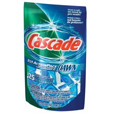 Cascade® 2-in-1 Action Pacs® Dishwasher Detergent