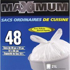 Maximum Kitchen Bags