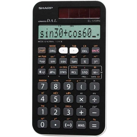 Calculatrice scientifique EL-510RNB