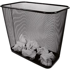 Mesh Rectangular Wastebasket