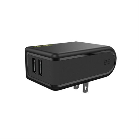Chargeur mural USB double