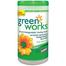 Lingettes nettoyantes biodégradables Green Works™
