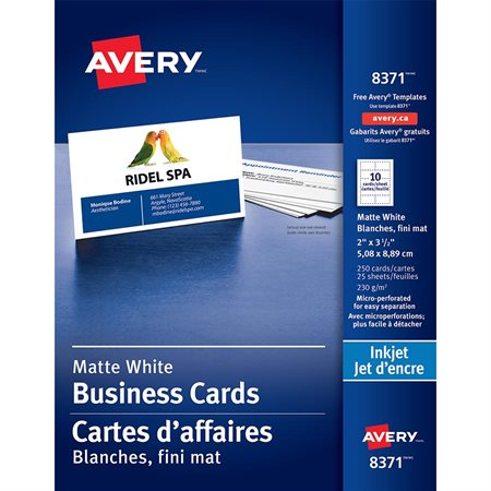 Avery Business Card Templates
