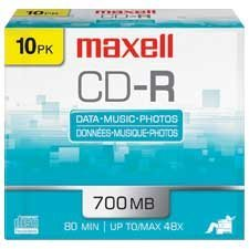 48x Writable CD-R