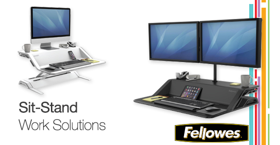 Lotus Convertible Sit Stand Workstation